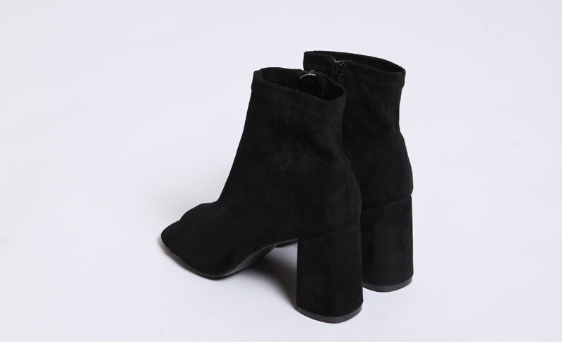 Boots aperti nero