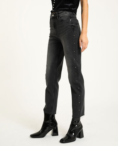 Jeans straight nero