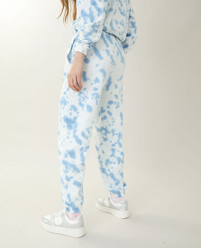Pantalone da jogging tie and dye bianco - Pimkie