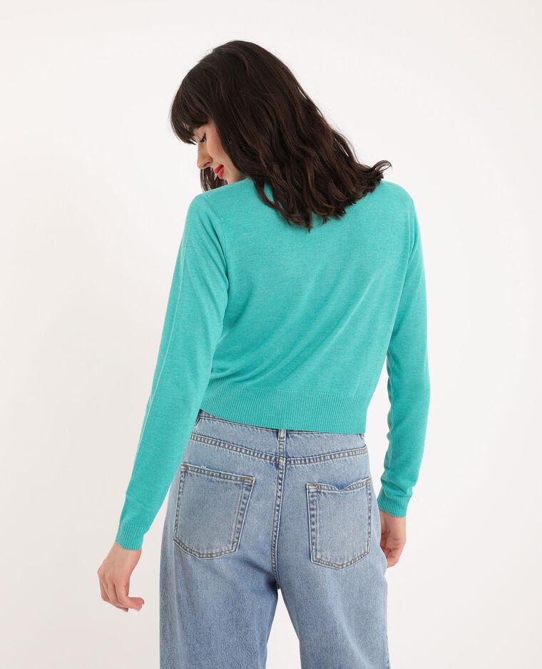 Pull leggero verde