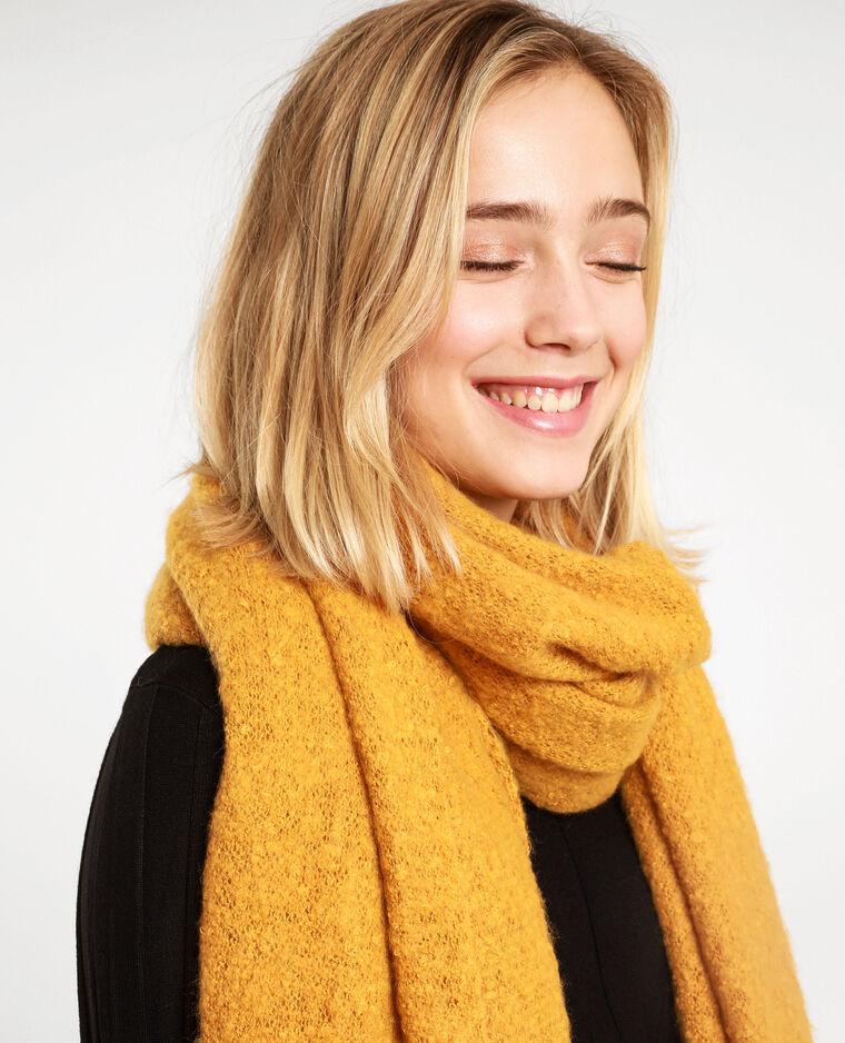 Sciarpa morbida giallo