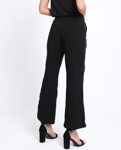 Pantalone con gallone nero