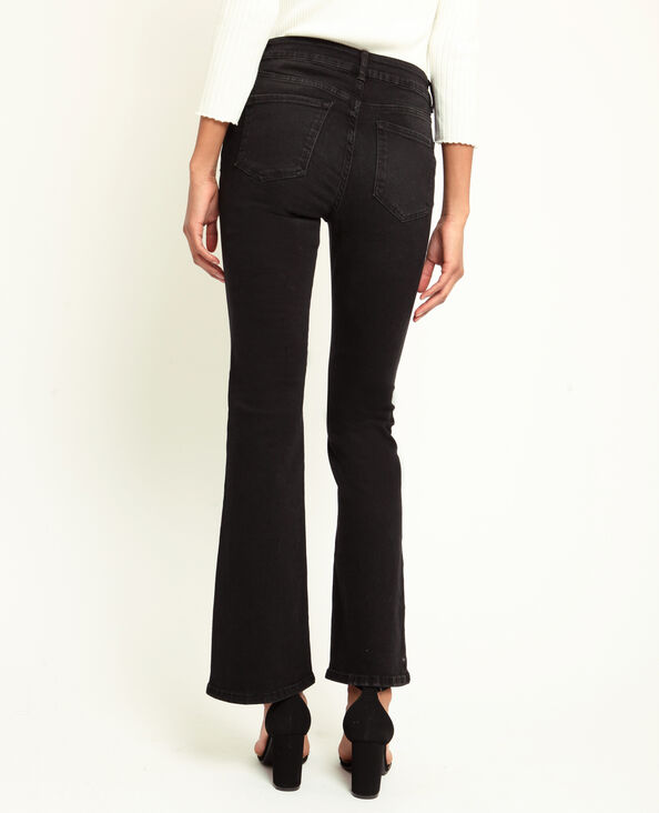 Jeans bootcut nero