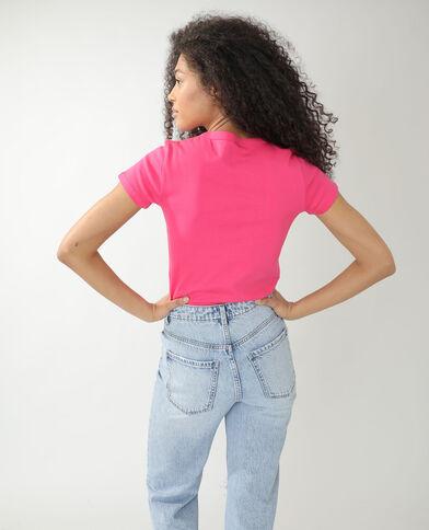 T-shirt basic rosa - Pimkie
