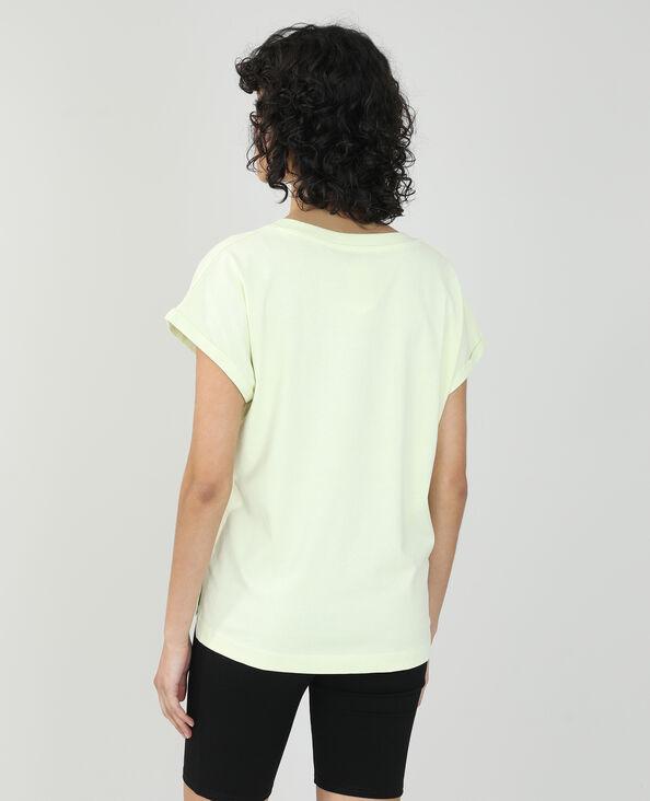 T-shirt basic oversize giallo pallido - Pimkie