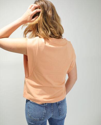 T-shirt ampia arancio