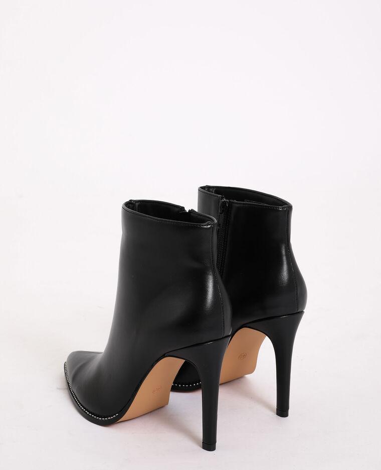 Stivali con tacco a spillo nero
