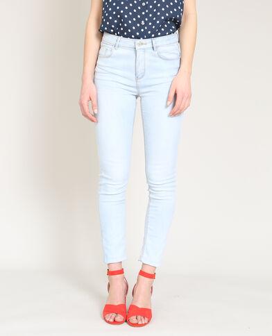 Jeans push up blu chiaro