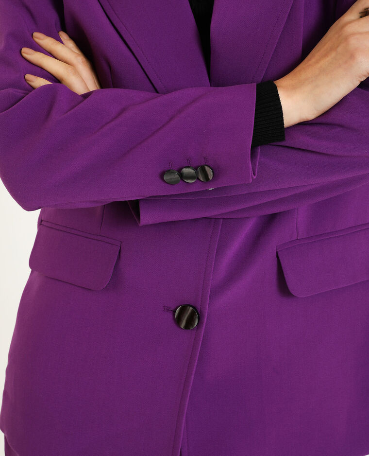 Blazer lungo viola - Pimkie