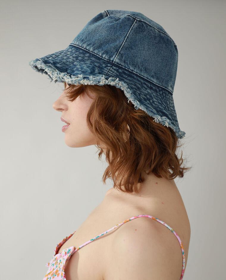 Cappello bob di jeans blu - Pimkie