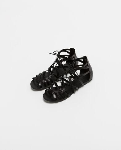 Sandali bassi nero