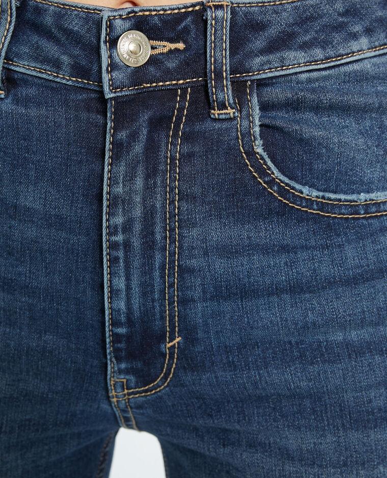 Jeans push up high waist blu grezzo - Pimkie