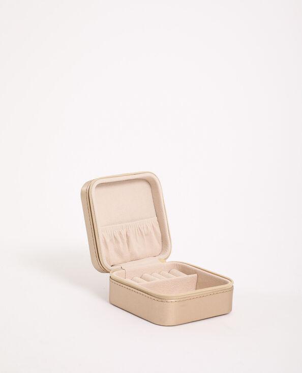 Cofanetto per gioielli dorato