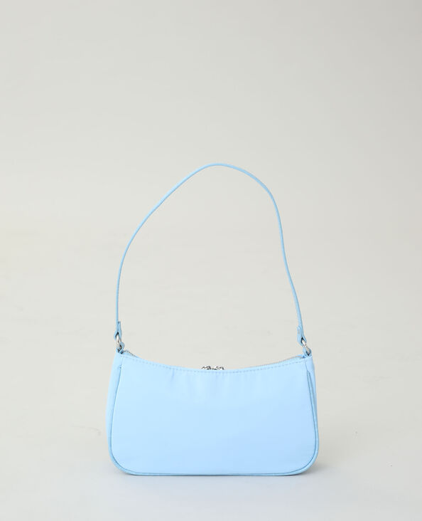 Borsa in nylon acquamarina