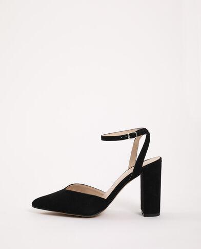 Sandali a punta nero