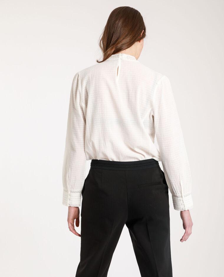 Camicia vittoriana bianco