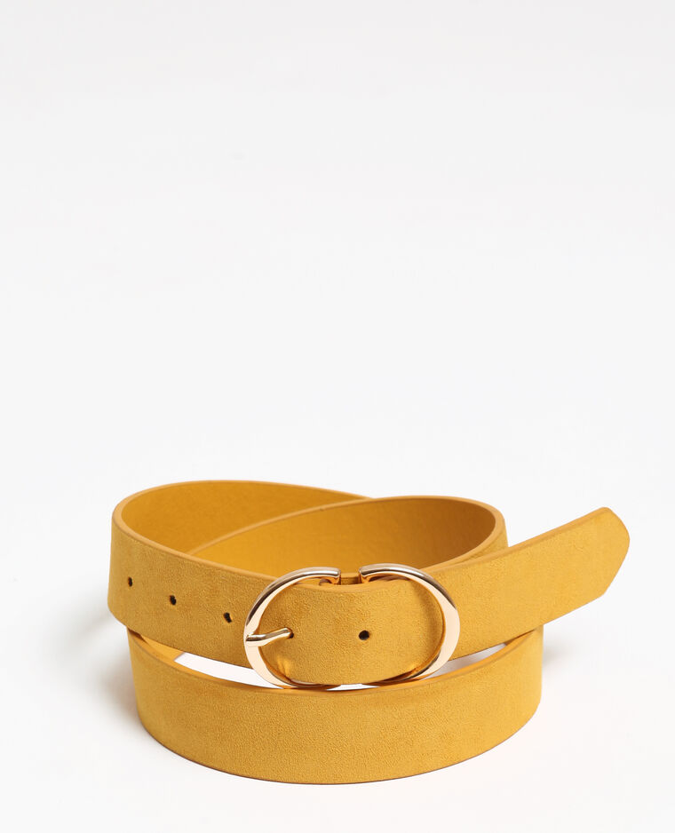 Cintura gialla Giallo