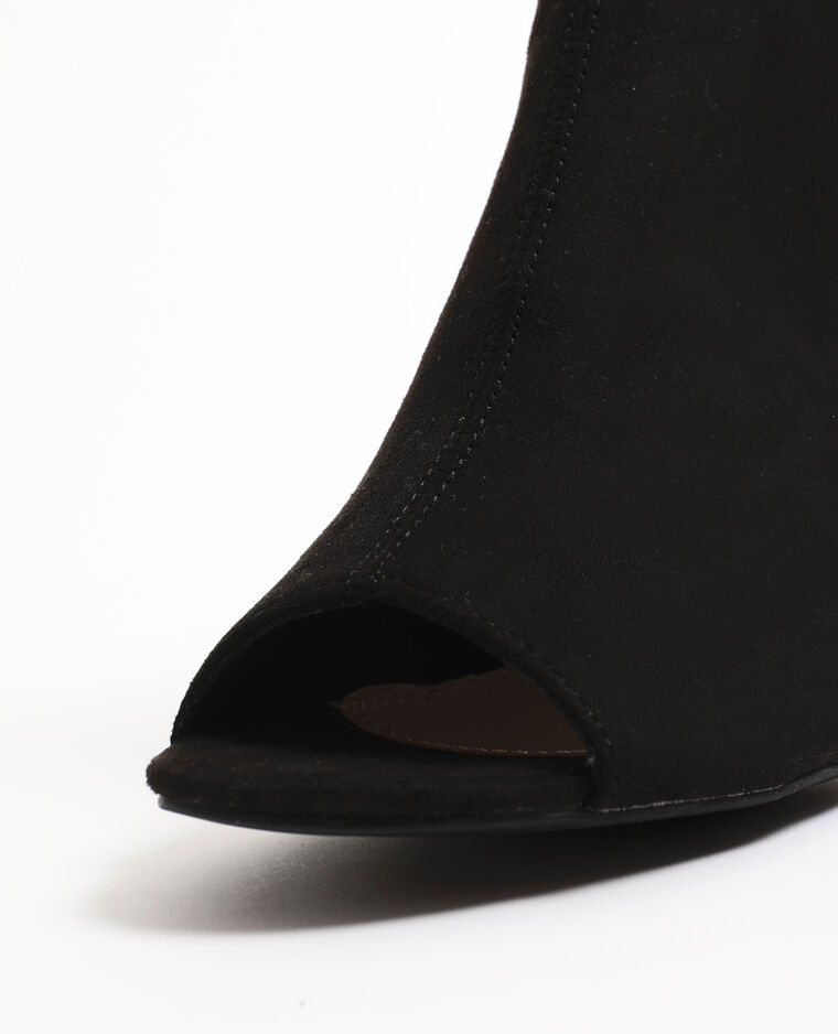 Sandali aperti nero