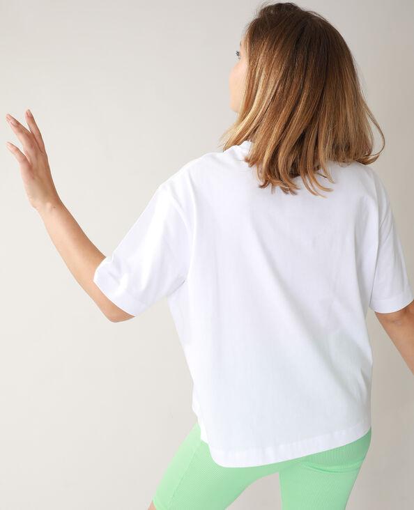 T-shirt oversize bianco - Pimkie
