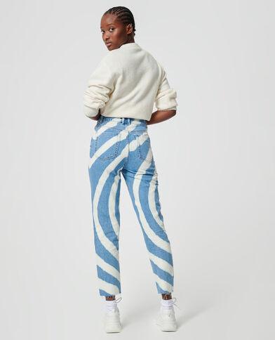 Jeans spirale blu denim - Pimkie