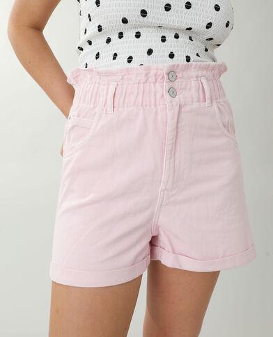 Short di jeans high waist rosa cipria - Pimkie