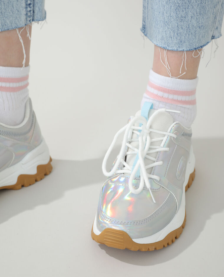 Scarpe da tennis dad shoes grigio - Pimkie