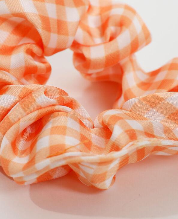 Elastico vichy arancio - Pimkie