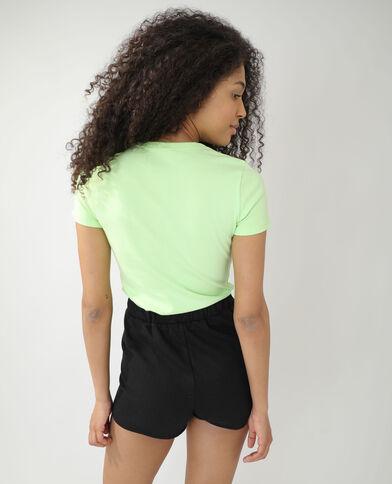 T-shirt basic verde - Pimkie
