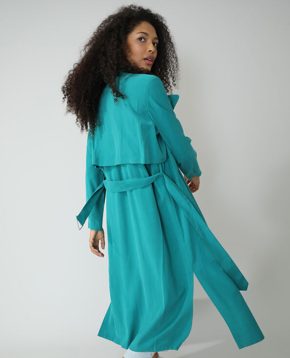 Trench lungo verde