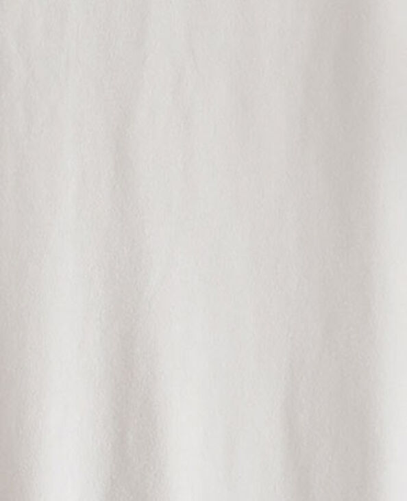 Abito con cintura in tessuto riciclato beige