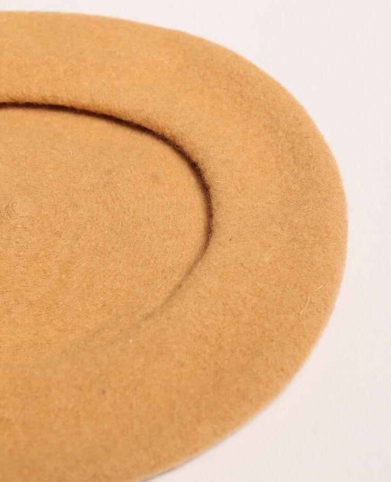 Basco in lana beige sabbia
