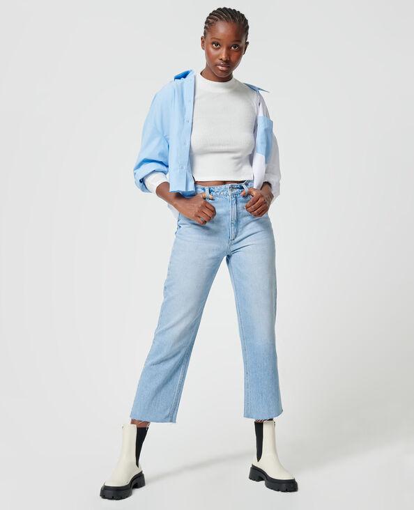 Jeans straight blu chiaro - Pimkie