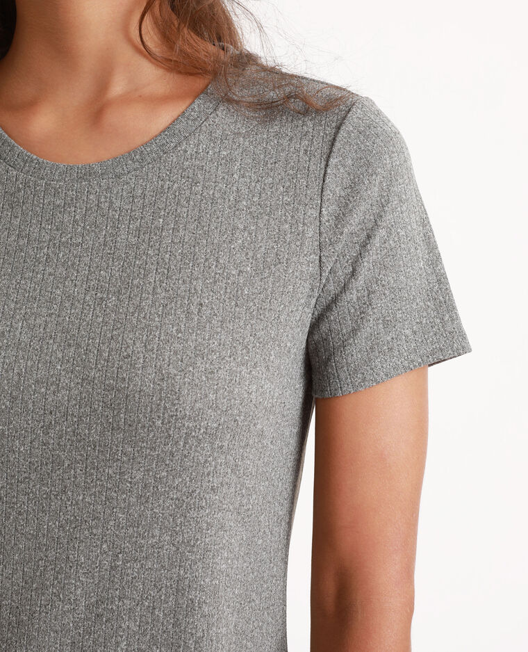 Abito t-shirt grigio