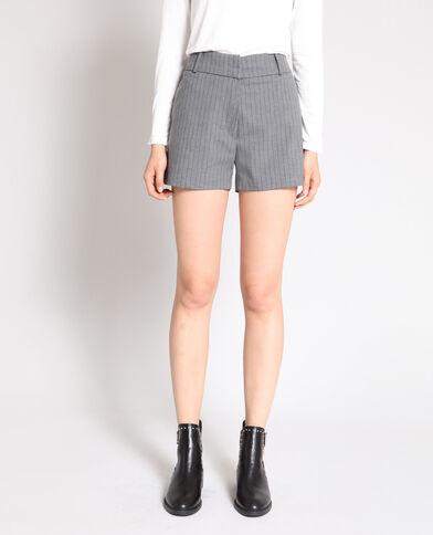 Short a righe grigio