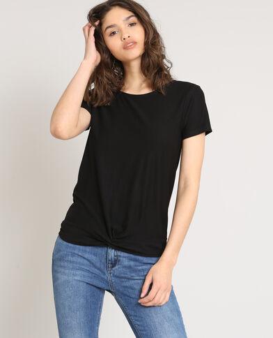 T-shirt maniche corte nero