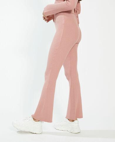 Pantalone a coste rosa - Pimkie