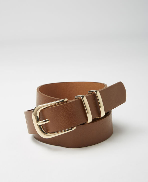 Cintura in finta pelle cammello - Pimkie