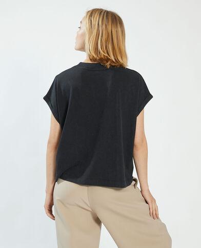 T-shirt oversize nero - Pimkie