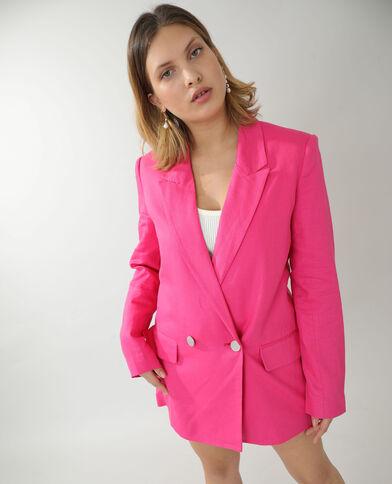 Giacca city rosa fucsia