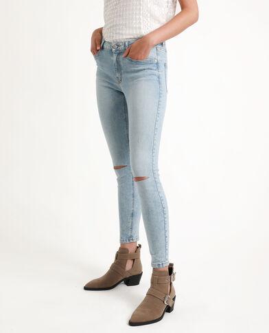 Jeans skinny middle waist blu chiaro