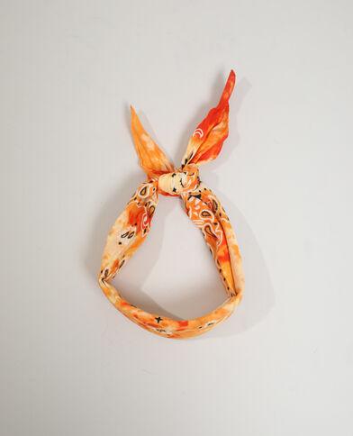 Foulard fantasia arancio - Pimkie