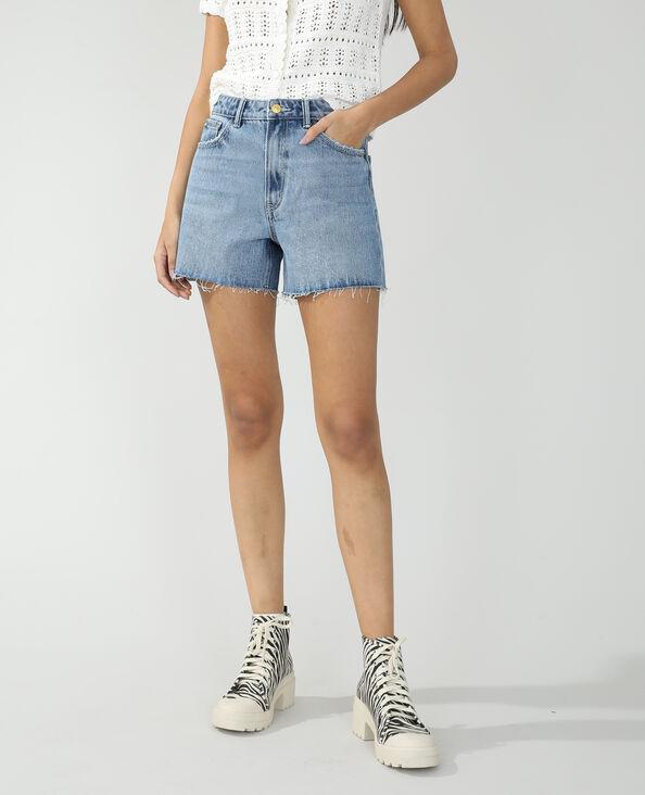 Short di jeans destroy blu denim - Pimkie