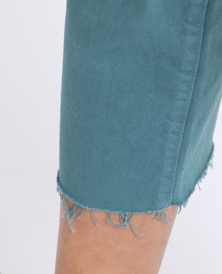 Jeans mid waist verde