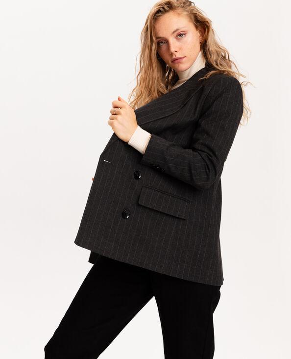 Giacca blazer grigio
