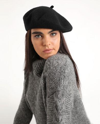 Basco in lana nero