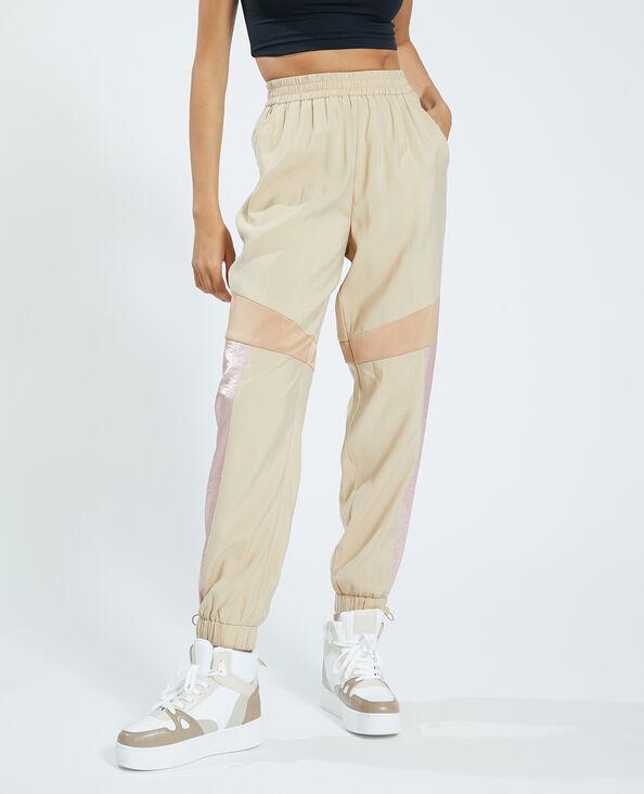 Pantalone da jogging marrone - Pimkie