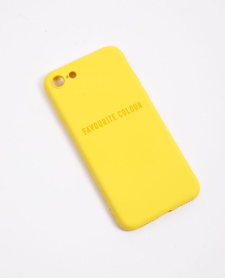 Custodia compatibile con iPhone giallo