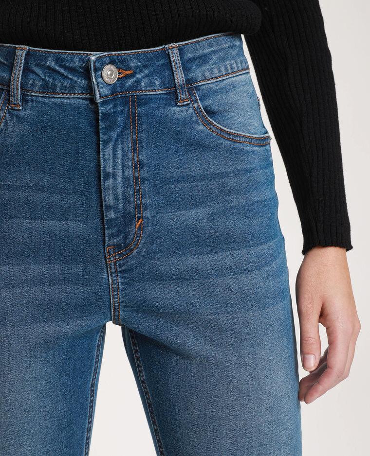 Jeans skinny high waist blu denim