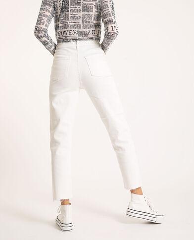 Jeans straight écru - Pimkie
