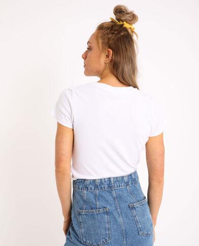 T-shirt basic bianco